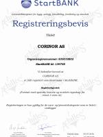 StartBANK - bevis - Corinor
